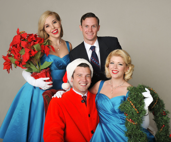 Photo Flash: First Look at the Cast of IRVING BERLIN'S WHITE CHRISTMAS at Sierra Rep