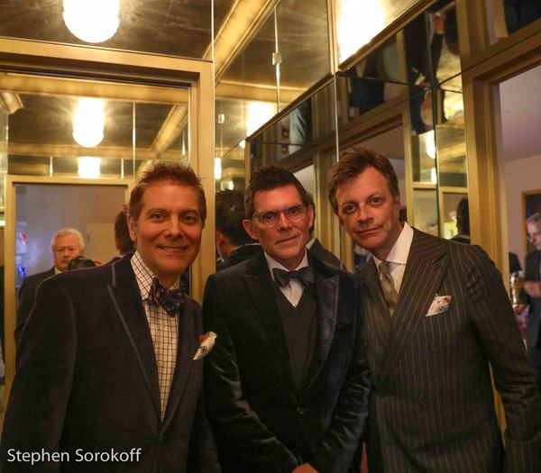 Michael Feinstein, Terrence Flannery, Jim Caruso