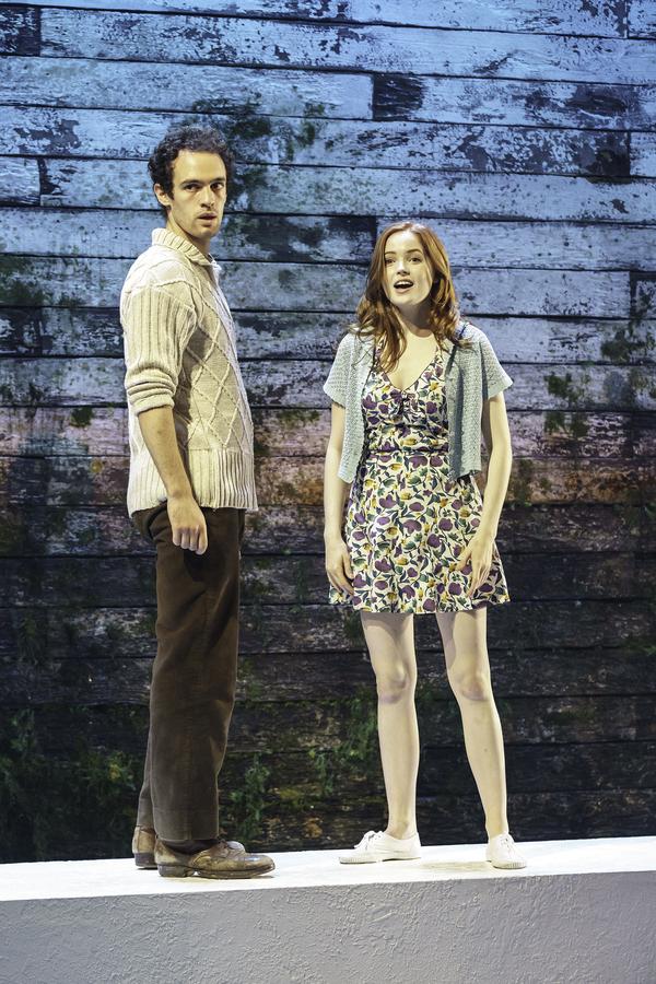 Jonny Holden and Ellie Bamber