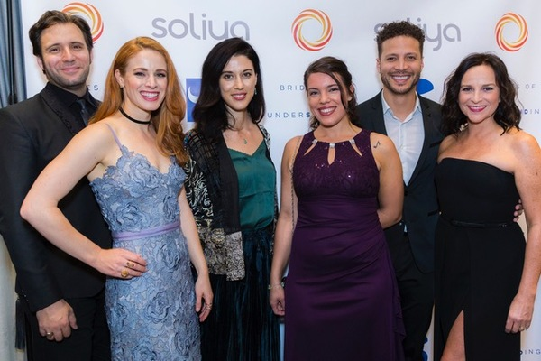 Steven Jamail, Teal Wicks, Cherien Davis, Shelley Thomas, Justin Guarini, and Sally A Photo