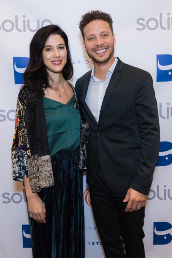 Cherien Dabis & Justin Guarini