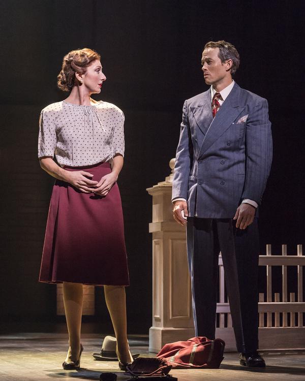 Carmen Cusack and Patrick Cummings