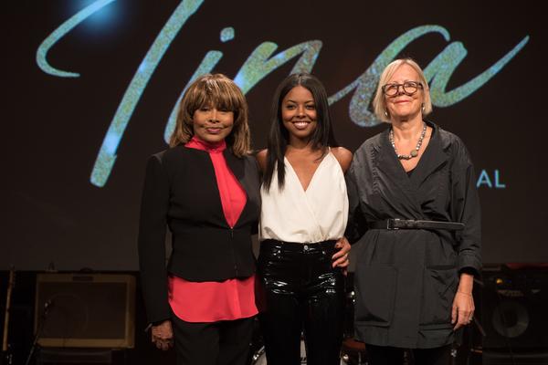 Tina Turner, Adrienne Warren and Phyllida Lloyd Photo