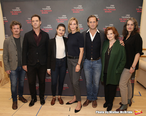 Beau Willimon, Marton Csokas, Phillipa Soo, Uma Thurman, Josh Lucas, Blair Brown and Pam MacKinnon