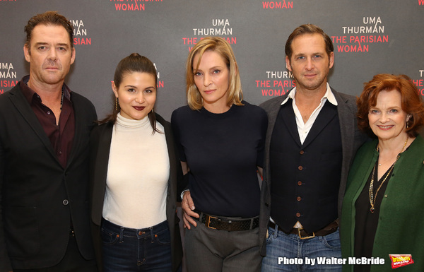 Marton Csokas, Phillipa Soo, Uma Thurman, Josh Lucas and Blair Brown