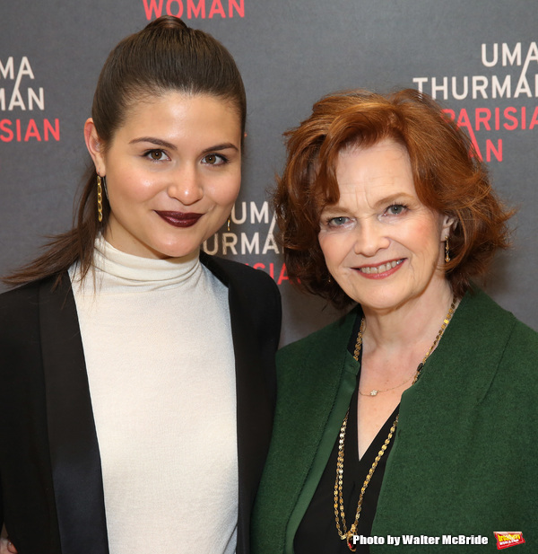 Phillipa Soo and Blair Brown