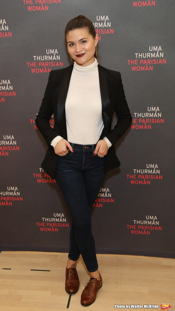 Photo Coverage: Uma Thurman and the Company of THE PARISIAN WOMAN Get Ready for Broadway!