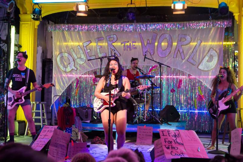 BWW Review:  Diana Oh's {MY LINGERIE PLAY}, Glitter, Soap Bubbles, Anger, Art and Activism