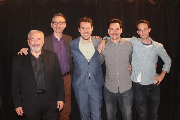 Stuart Zagnit, Jay Russell, Benjamin Viertel, Kevin Lowry and Jake Horowitz