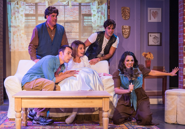 Photo Flash: Fans, They're Here for You! First Look at FRIENDS! THE MUSICAL PARODY Off-Broadway