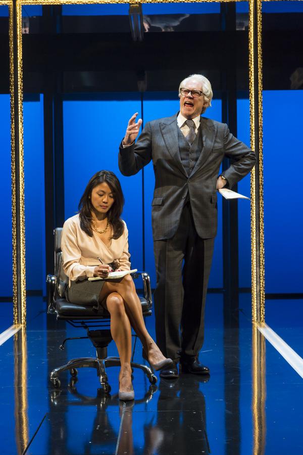 Teresa Avia Lim and Michael Siberry Photo