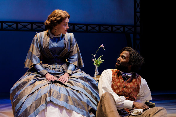 Madeleine Lambert and Cedric Mays