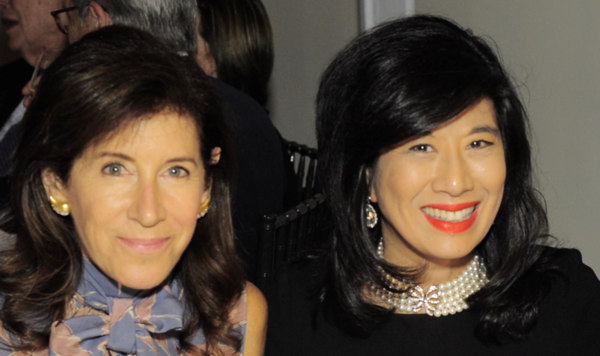 Linda E. Johnson and Andrea Jung