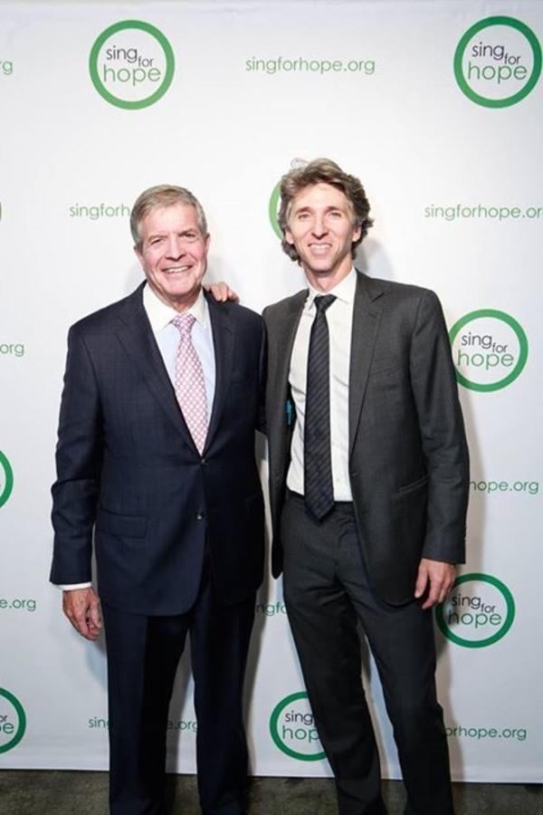 Damian Woetzel and Dr. Joseph W. Polisi Photo