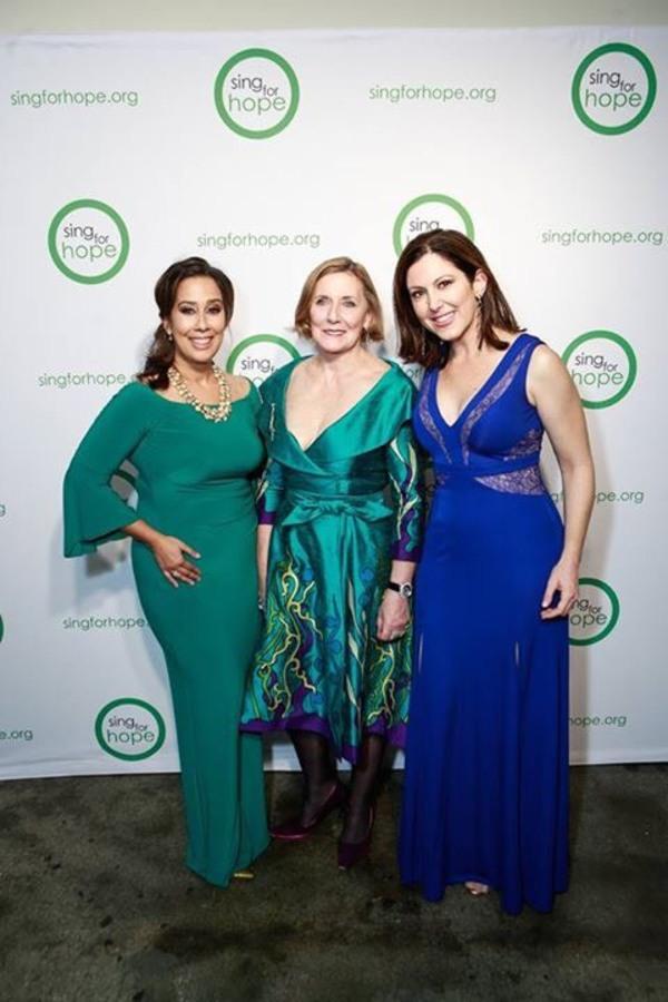Monica Yunus, Camille Zamora & Ann Ziff