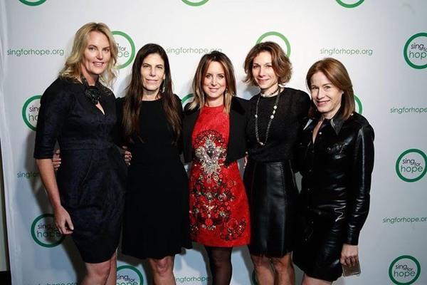 Aline Shapiro, Lauren Geller, Margie Loeb, Daryl Simon, Julie Bernstein