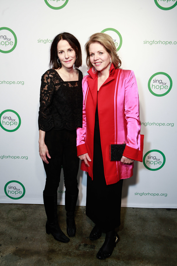 Mary-Louise Parker, Renee Fleming