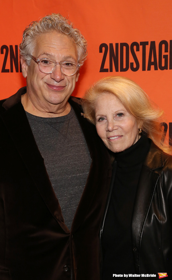Harvey Fierstein and Daryl Roth