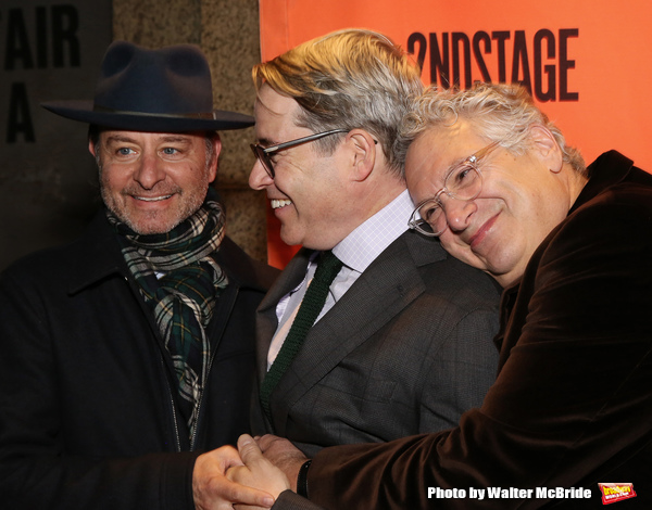 Fisher Stevens, Matthew Broderick and Harvey Fierstein