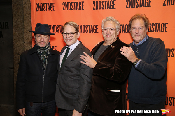 Fisher Stevens, Matthew Broderick, Harvey Fierstein and Brian Kerwin
