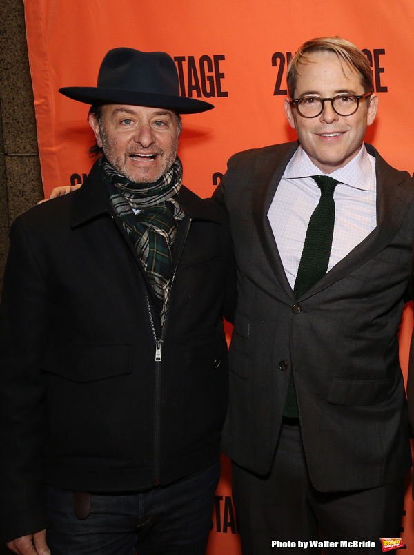 Fisher Stevens and Matthew Broderick