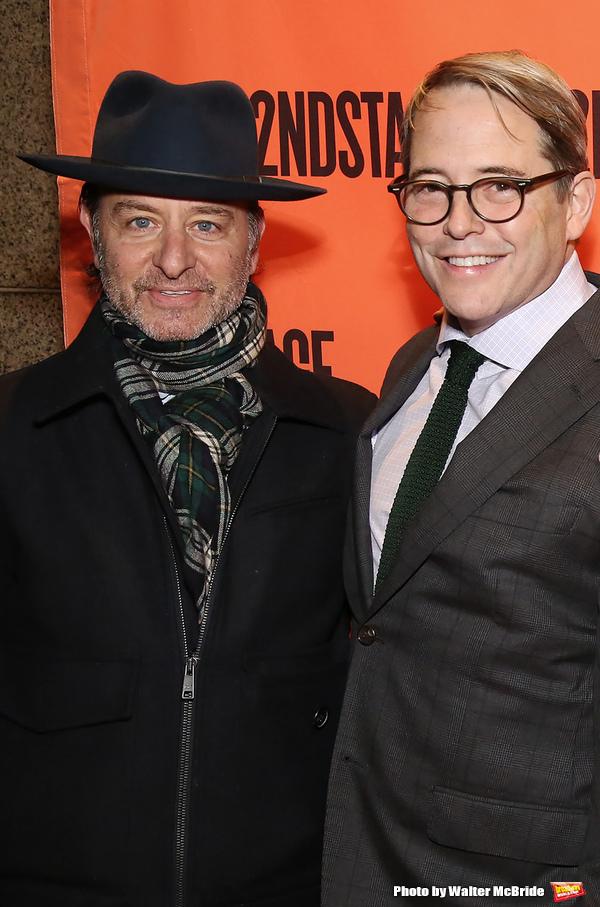 Fisher Stevens and Matthew Broderick  Photo