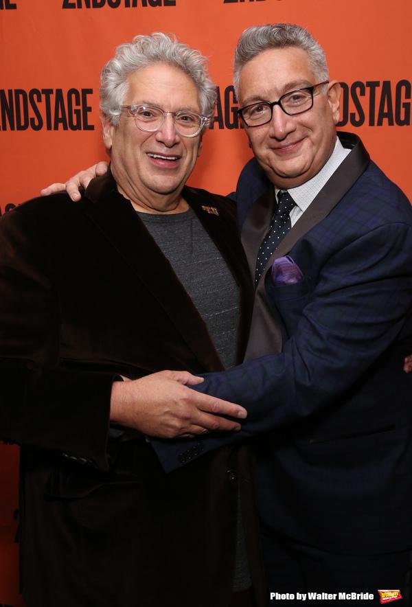 Harvey Fierstein and Moises Kaufman