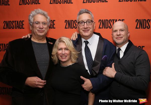 Harvey Fierstein, Carole Rothman, Moises Kaufman and Richie Jackson