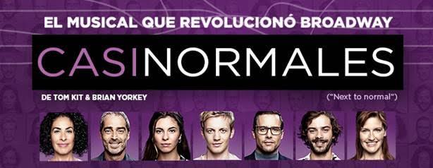 CASI NORMALES prorroga en Barcelona