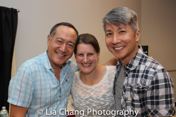 Alan Muraoka,  Kristen Lee Rosenfeld and Jason Ma