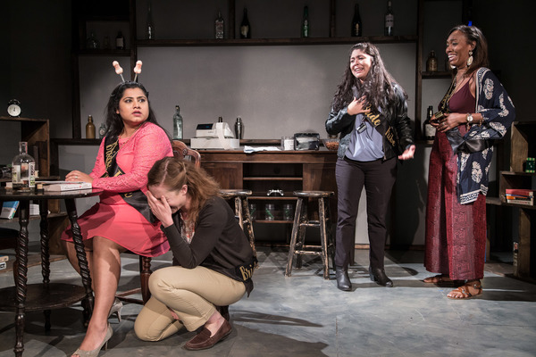 Priya Mohanty, Tara Bouldry, Selene Perez and Brianna Buckley