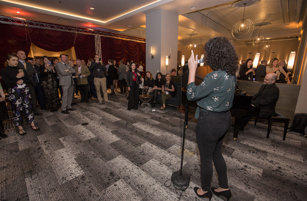 Photos: Les Misérables Cast Performs at Cambria Chicago Loop – Theatre District Grand Opening