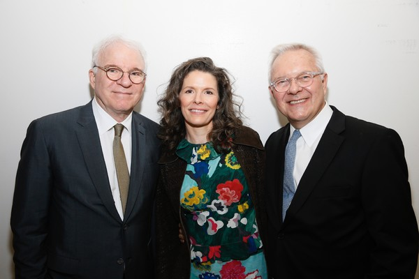Steve Martin and Edie Brickell and Walter Bobbie Photo