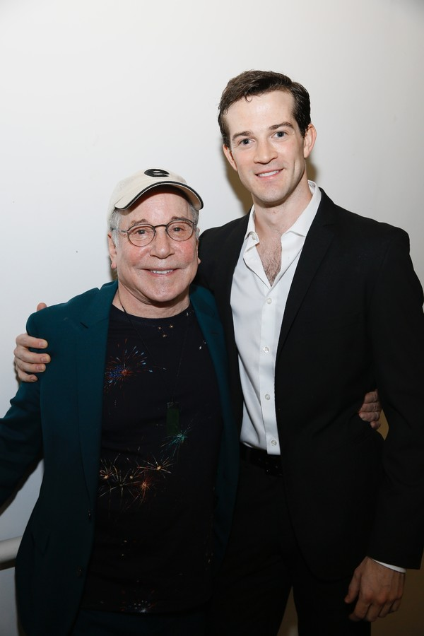 Paul Simon and A.J. Shively Photo