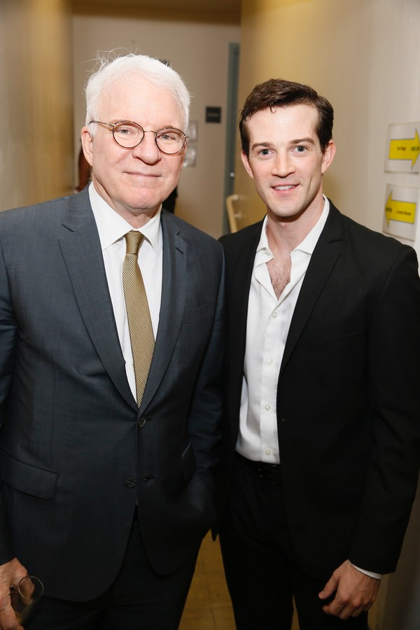 Steve Martin and A.J. Shively  Photo