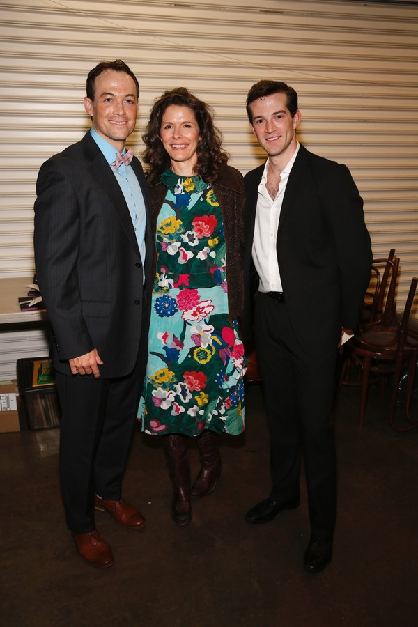 Patrick Cummings, Edie Brickell and A.J. Shively Photo