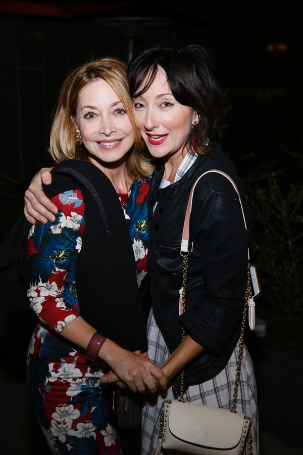 Sharon Lawrence and Carmen Cusack