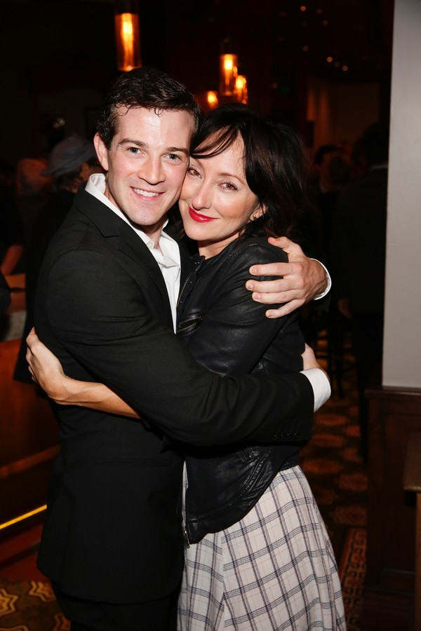 A.J. Shively and Carmen Cusack  Photo