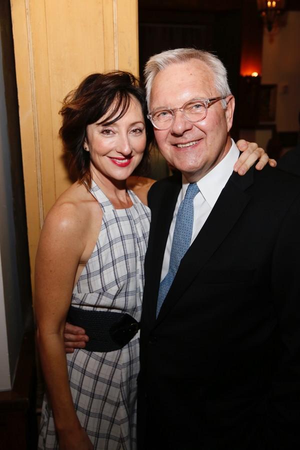 Carmen Cusack and  Walter Bobbie  Photo