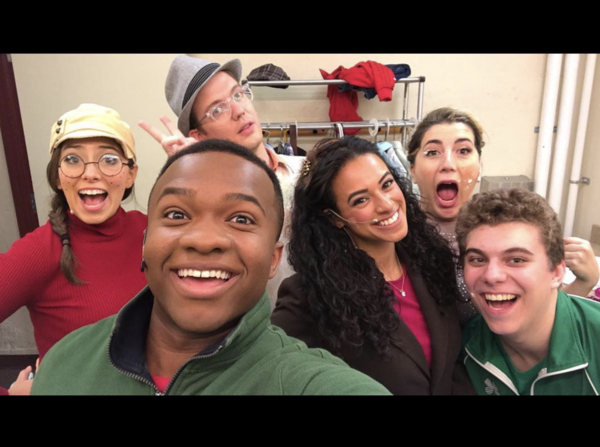 Photos: More Hot Pies! SWEENEY TODD Pops in for a Two Show Day, and More Saturday Intermission Pics!