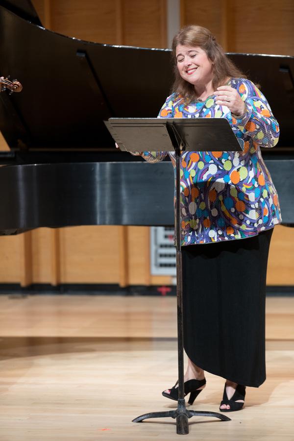 Soprano Allison Charney concludes concert program with PREformances' signature Photo