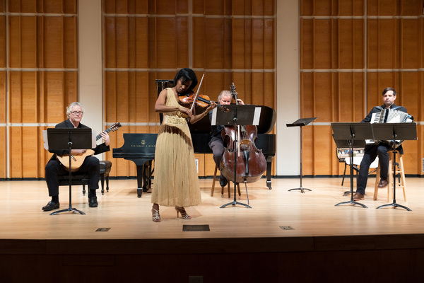 Kelly Hall-Tompkins and Trio performs from Fiddler on the Roof Suite Photo