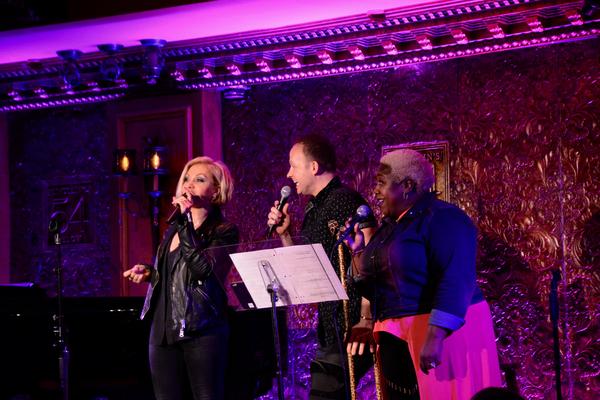 Orfeh, Marty Thomas and Lacretta Nicole Photo