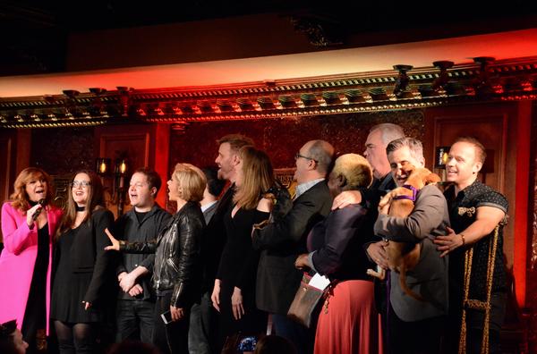 Andrea McArdle, Jennifer Simard, Orfeh, Stephen Wallem, Emily Skinner, Brad Oscar, La Photo