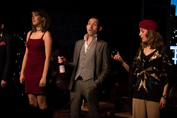 Photo Flash: First Look at WHEN MIDNIGHT STRIKES at The Drayton Arms Theatre