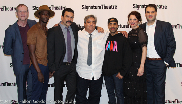 Mark Brokaw, Edi Gathegi, Ricardo Chavira, Stephen Adly Guirgis, Sean Carvajal, Stephanie DiMaggio, and Erick Betancourt