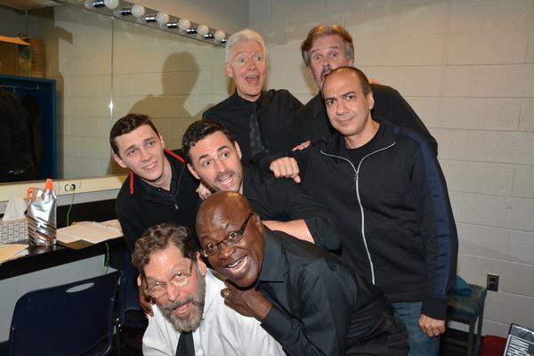 David Staller, Aaron Lee Battle, Daniel Marconi, Max von Essen, Tony Sheldon, George  Photo