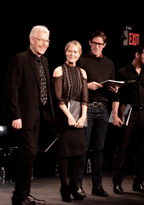 Tony Sheldon, Rebecca Luker and Frank C. DiLella Photo