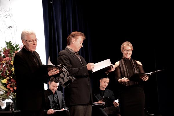 Tony Sheldon, Mark Shanahan and Rebecca Luker Photo