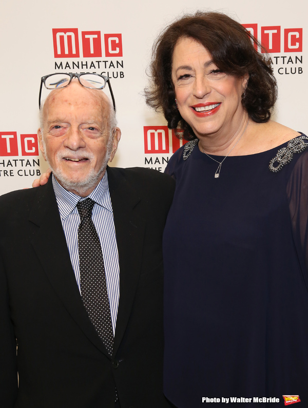 Hal Prince and Lynne Meadow
